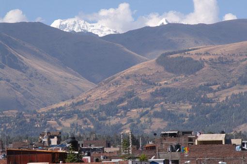 Huaytapallana Overlooking Huancayo